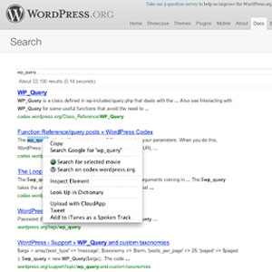 Search WordPress.org