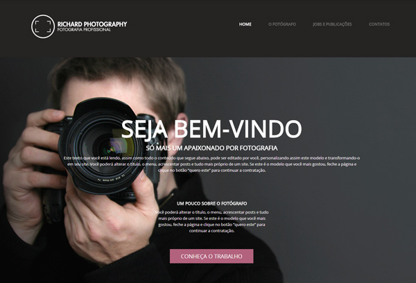 Estúdio fotográfico ou fotógrafos