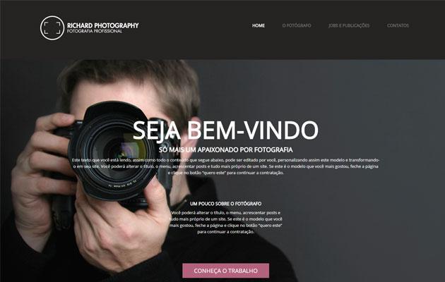 Tema WordPress para fotógrafo