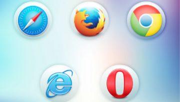 logo de navegadores populares