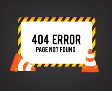 mensagem de erro 404