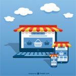 modelo de site com loja